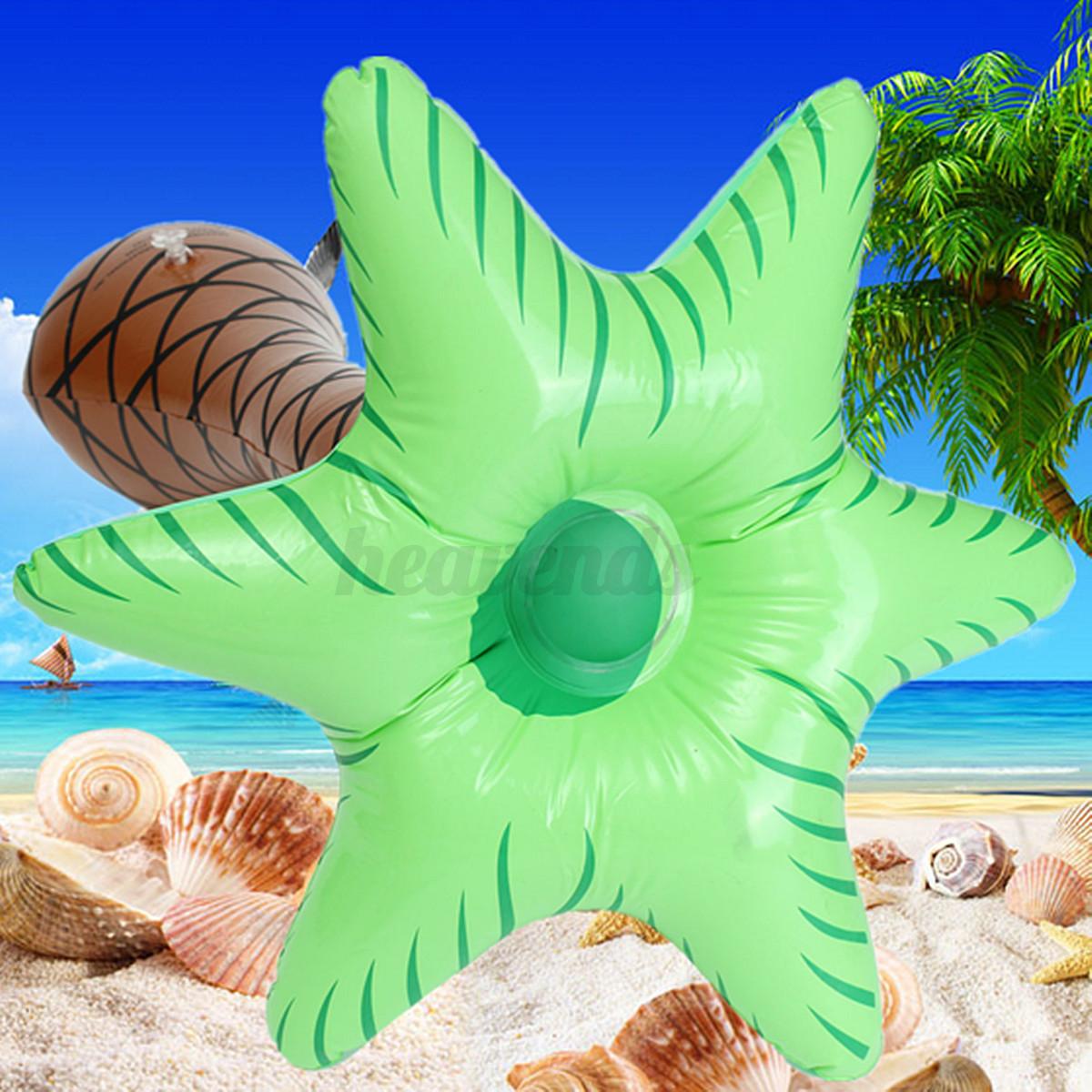 Aufblasbare palme dschungel spielzeug für hawaiian sommer
