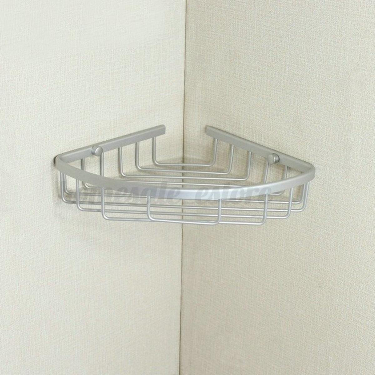 Estante triangular de ducha ba o cocina esquina rack for Colgador de ducha