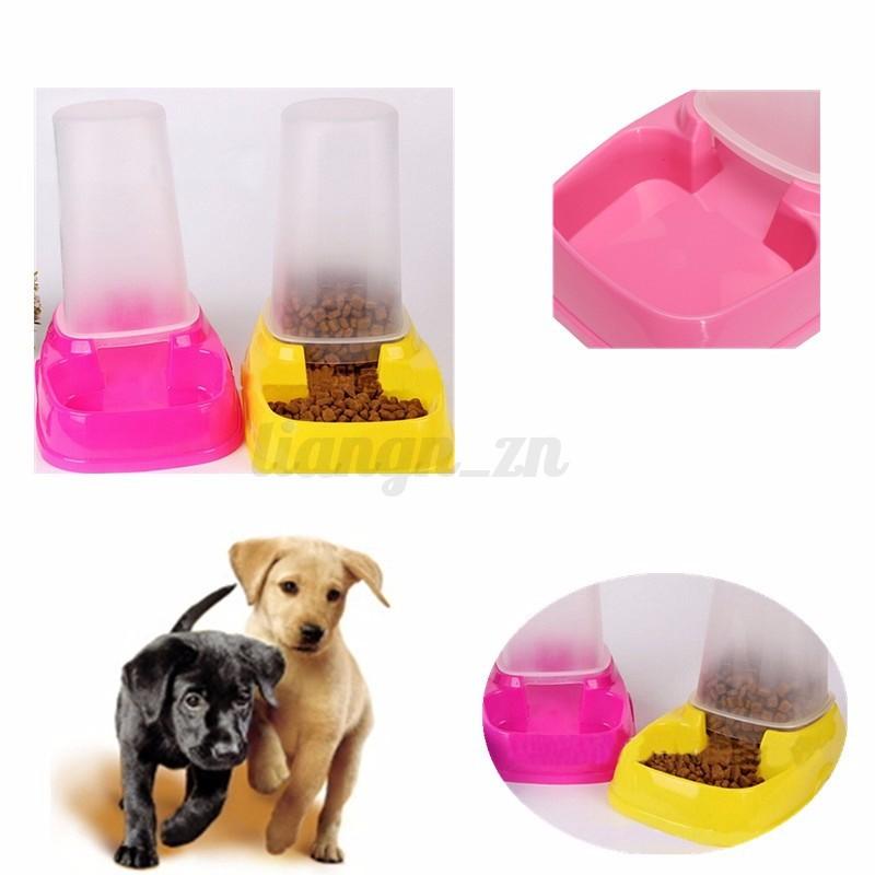 Automatique distributeur de croquette eau bol chien animal ecuelle mangeoire ebay - Comparatif croquettes chien 60 millions ...