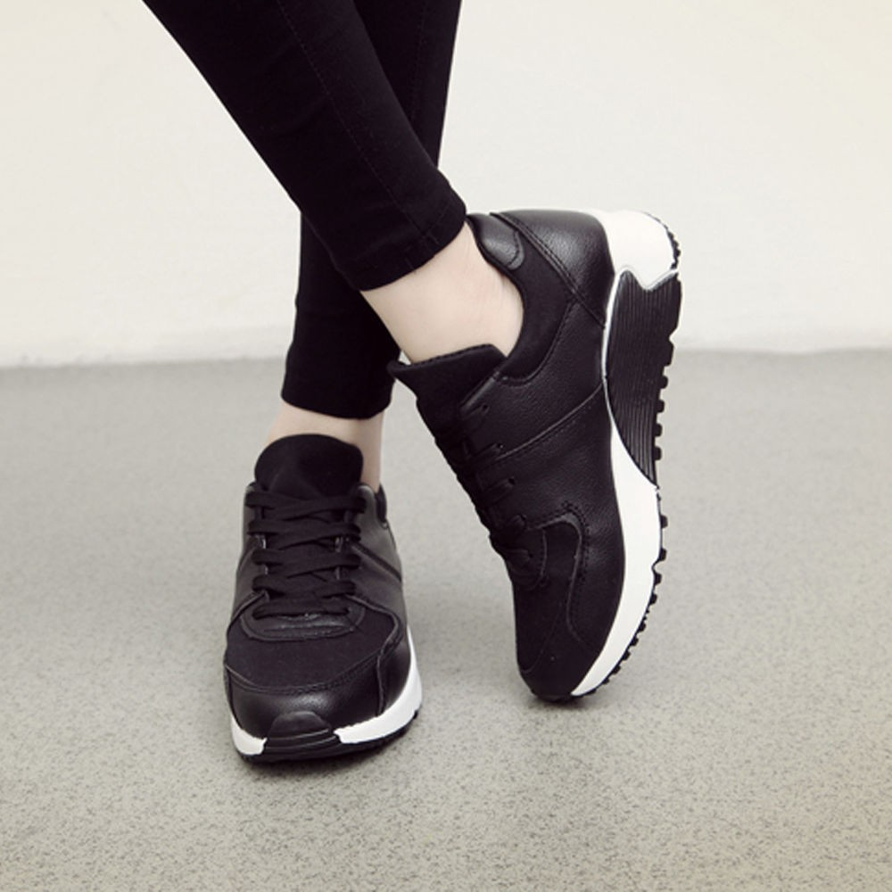 Walking Shoes With A Wedge Heel