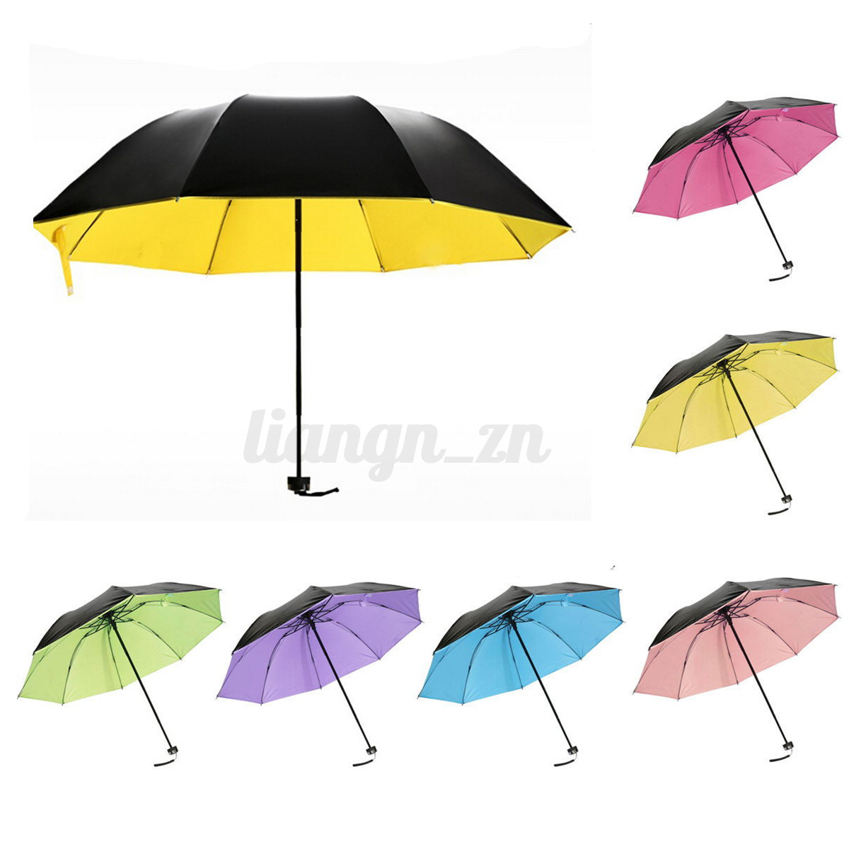 uv vent soleil parapluie parasol ombrelle femme pliant. Black Bedroom Furniture Sets. Home Design Ideas