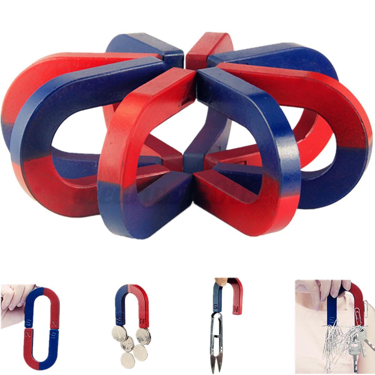Traditional mini u shaped horseshoe magnet kids toy