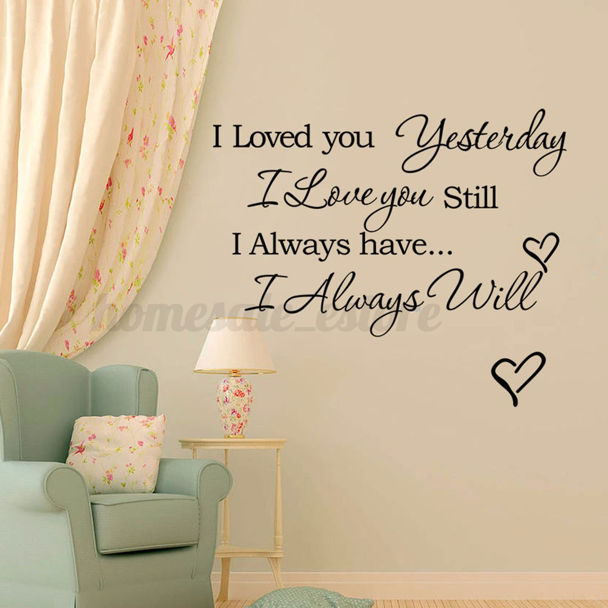 Family DIY Removable Art Vinyl Quote Wall Stickers Decal ...