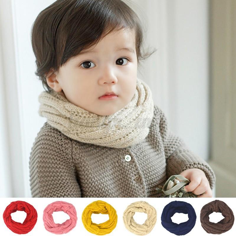 b b enfant fille gar on foulard charpe laine tricote crochet cache cou hiver ebay. Black Bedroom Furniture Sets. Home Design Ideas
