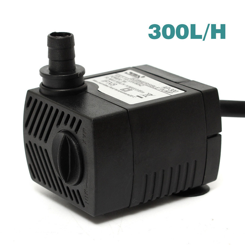 300 600 1000 1500 2500lph Submersible Water Fountain Pump For Fish Tank Pond New Ebay