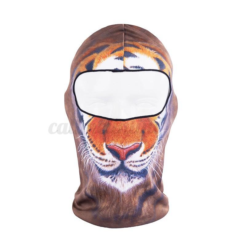 femme homme masque cagoule casque balaclava 3d imprim animal v lo moto ski cool ebay. Black Bedroom Furniture Sets. Home Design Ideas