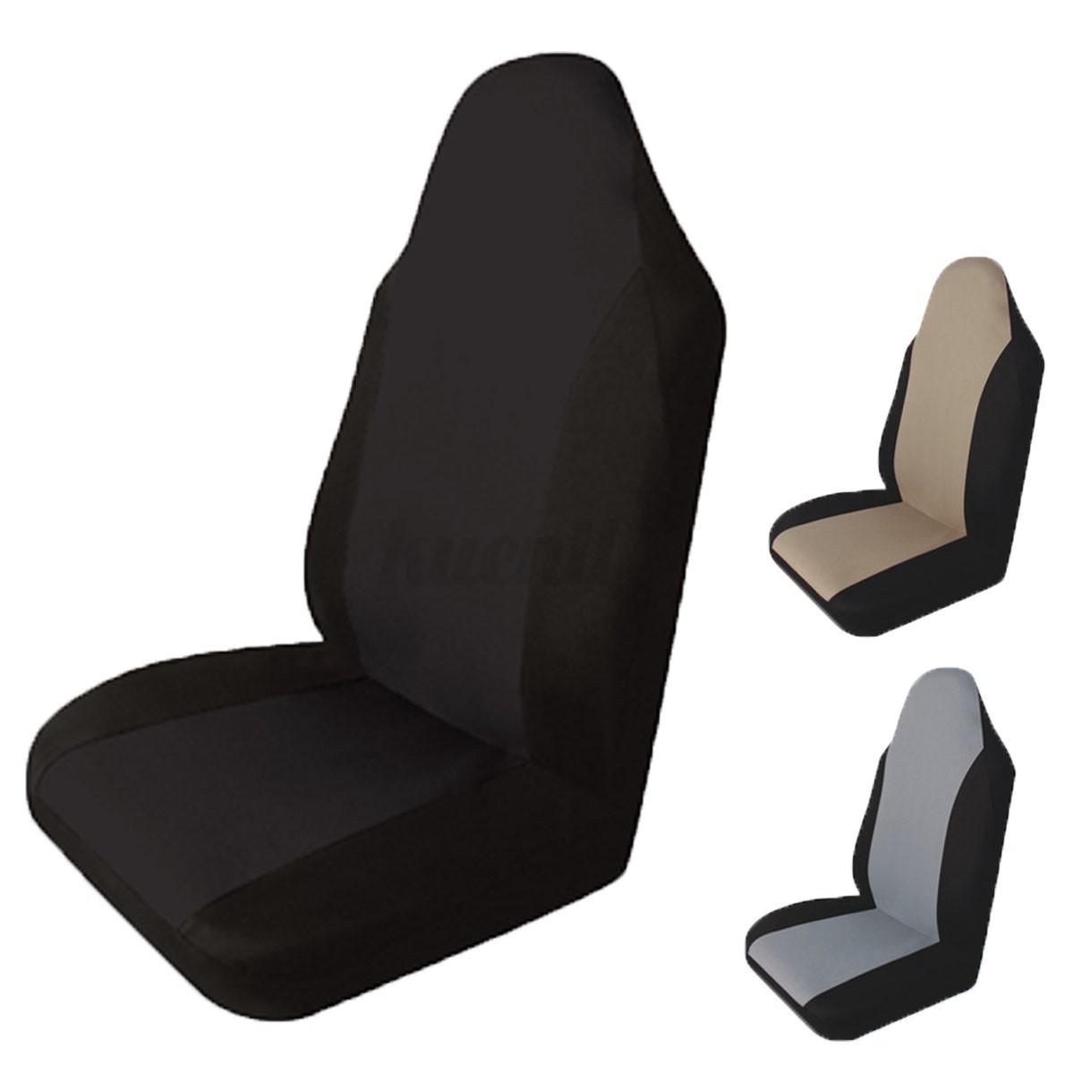 Universal fundas de asiento de coche duradera transpirable para proteger coche ebay - Fundas para asientos de coches ...