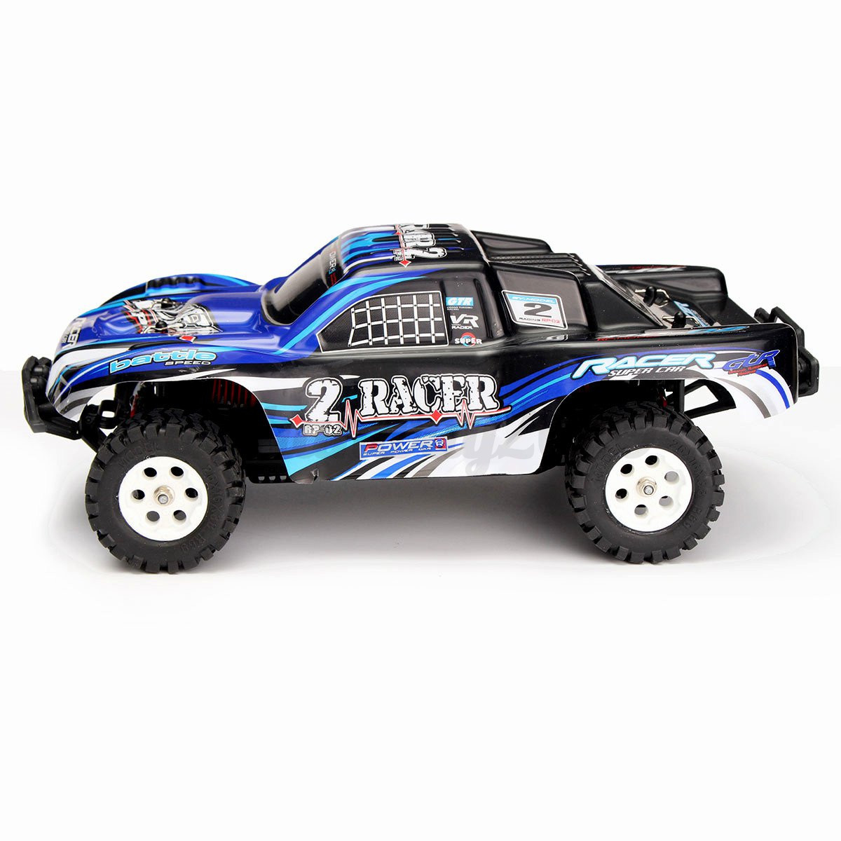 1 16 4wd fast electric rc remote control car off road truck 2 4ghz full scale ebay. Black Bedroom Furniture Sets. Home Design Ideas