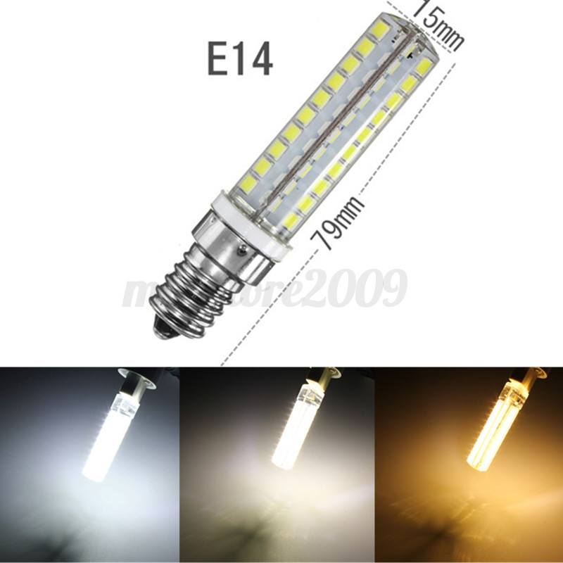 10w g9 e14 e12 b15 2835 led 80 smd corn light bulb lamp warm pure white 220v. Black Bedroom Furniture Sets. Home Design Ideas