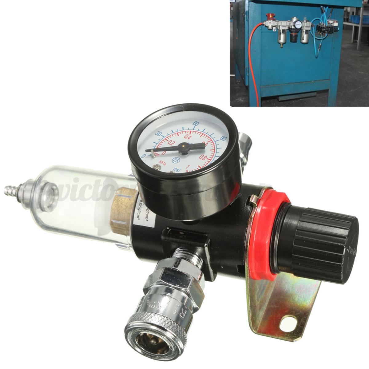 1 4 air compressor filter moisture water separator trap for Filtre waterair