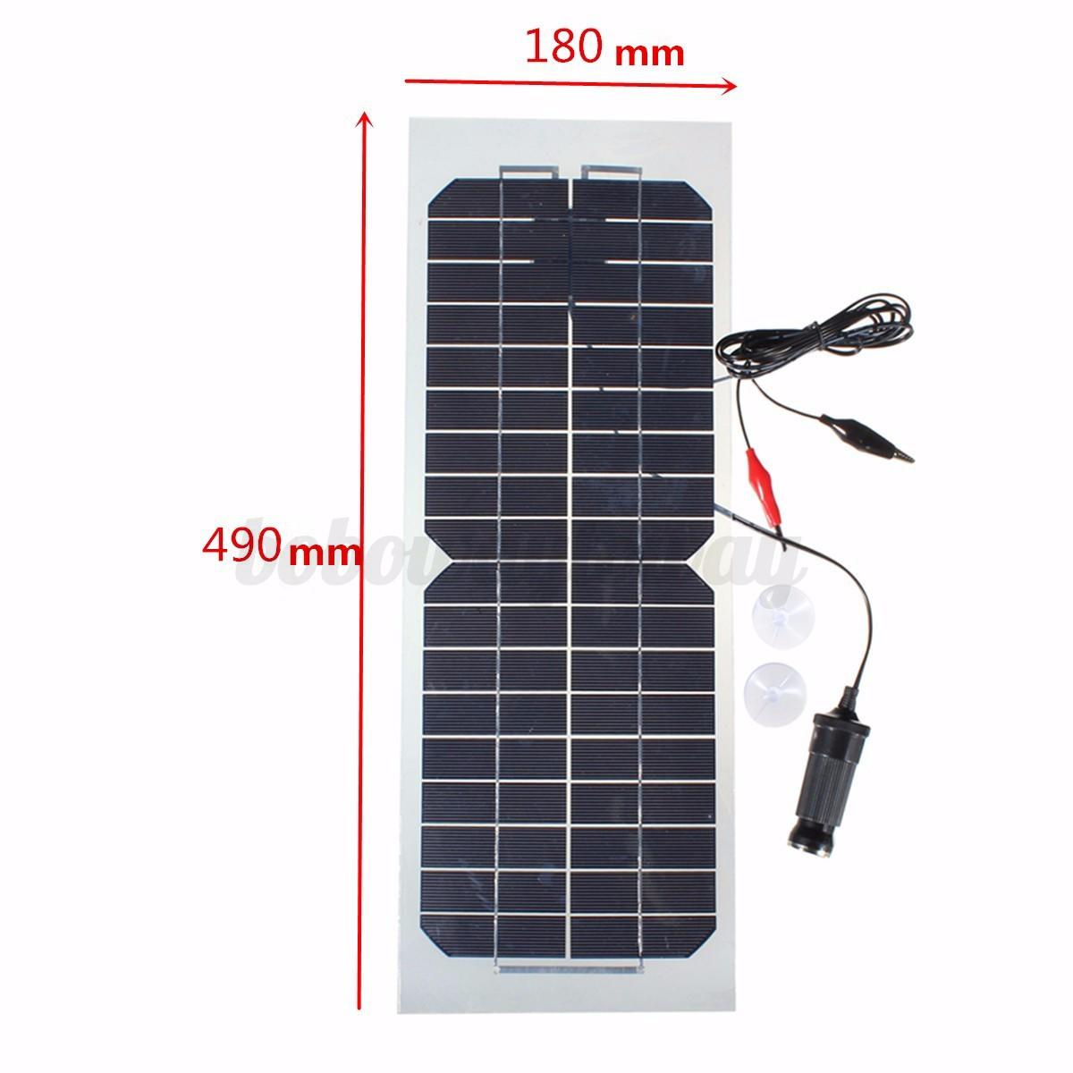 Kit Pannello Solare Da Campeggio : W solar module semi flessibile pannello solare