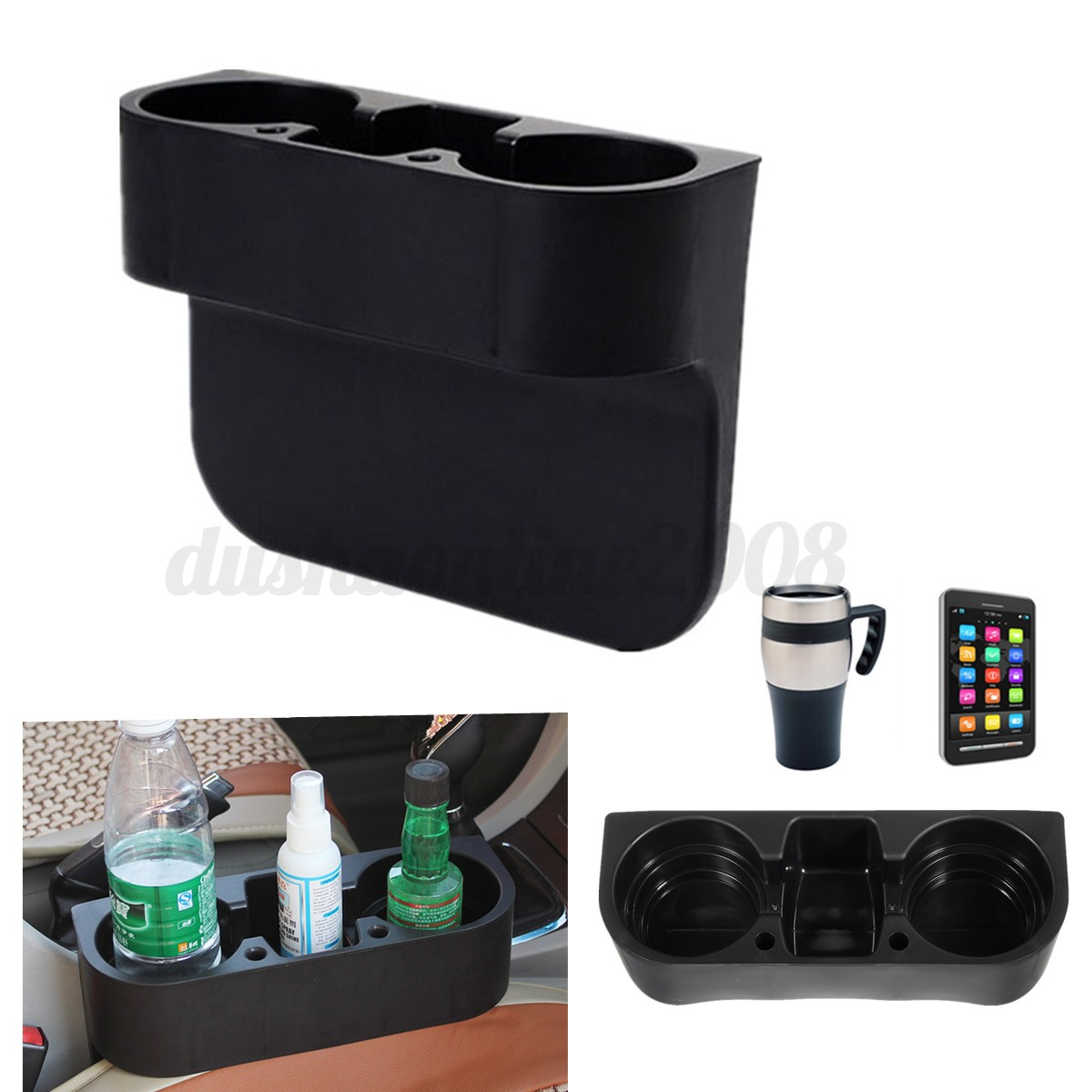 universel camion voiture coffret siege rangement stockage boite support mug sac eur 6 74. Black Bedroom Furniture Sets. Home Design Ideas