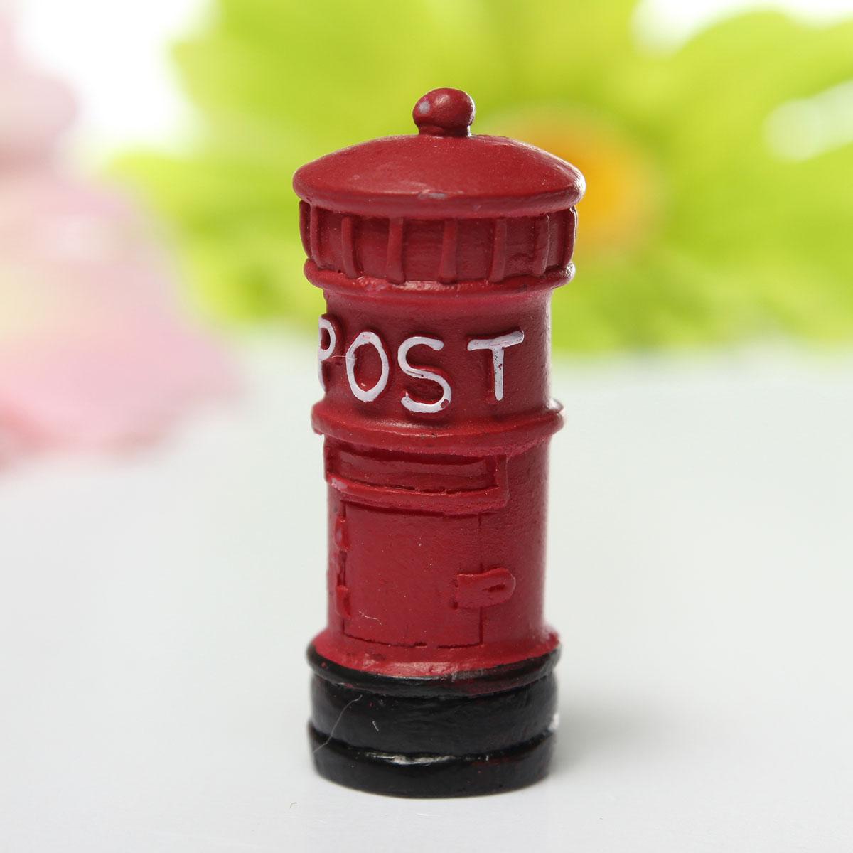 Garden Ornament Miniature Figurine Resin Craft Plant Pots Fairy Dollhouse Decor
