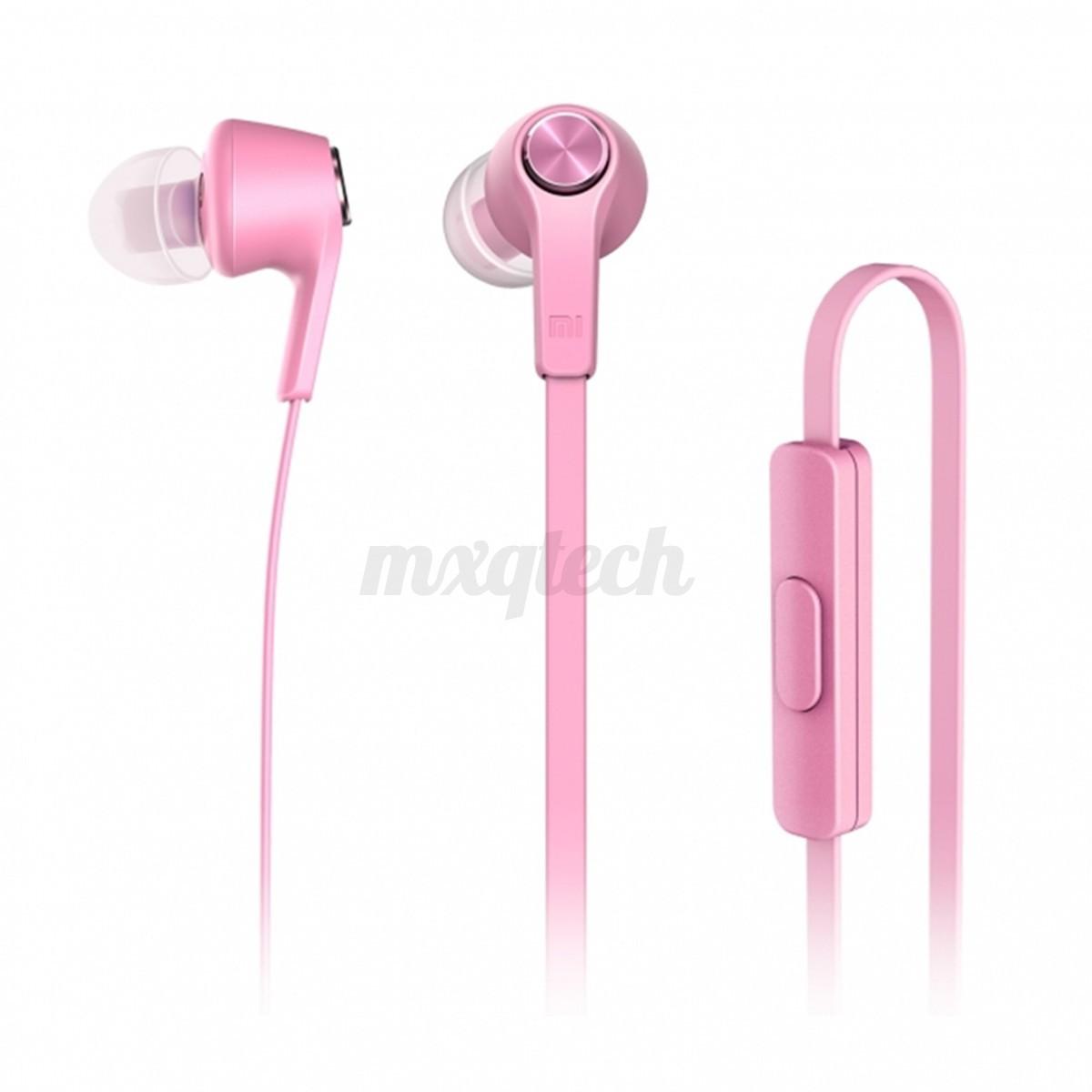 Original XiaoMi 3.5MM In Ear Mic Headset Headphone Earphone Earbud Auriculares
