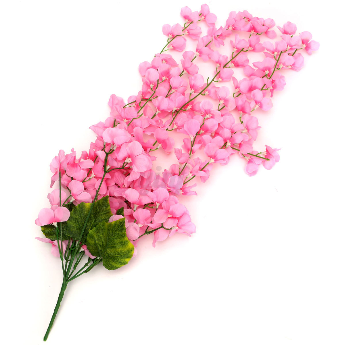 Wall Decor With Artificial Flowers : Branch artificial wall hanging ivy vine silk hydrangea