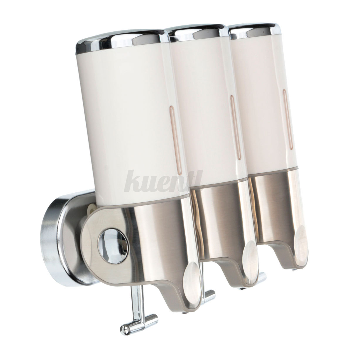 Wall Mounted Soap Dispenser Toilet Shower Gel Shampoo Conditioner Dispensers
