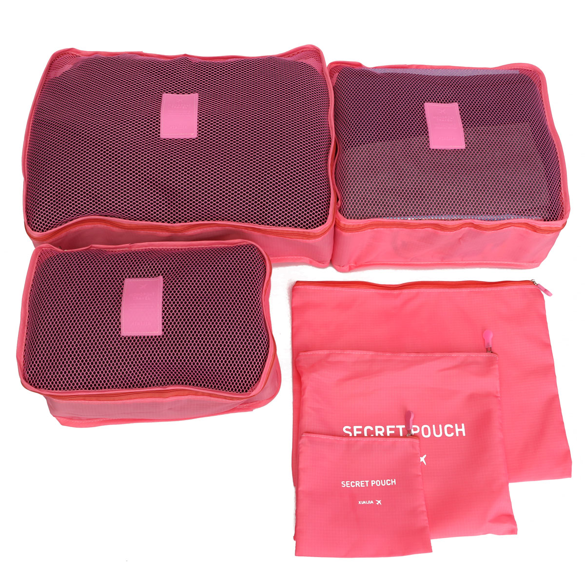 6Pcs-Waterproof-Clothes-Storage-Travel-Luggage-Organizer-Bags-  sc 1 st  eBay & 6Pcs Waterproof Clothes Storage Travel Luggage Organizer Bags ...