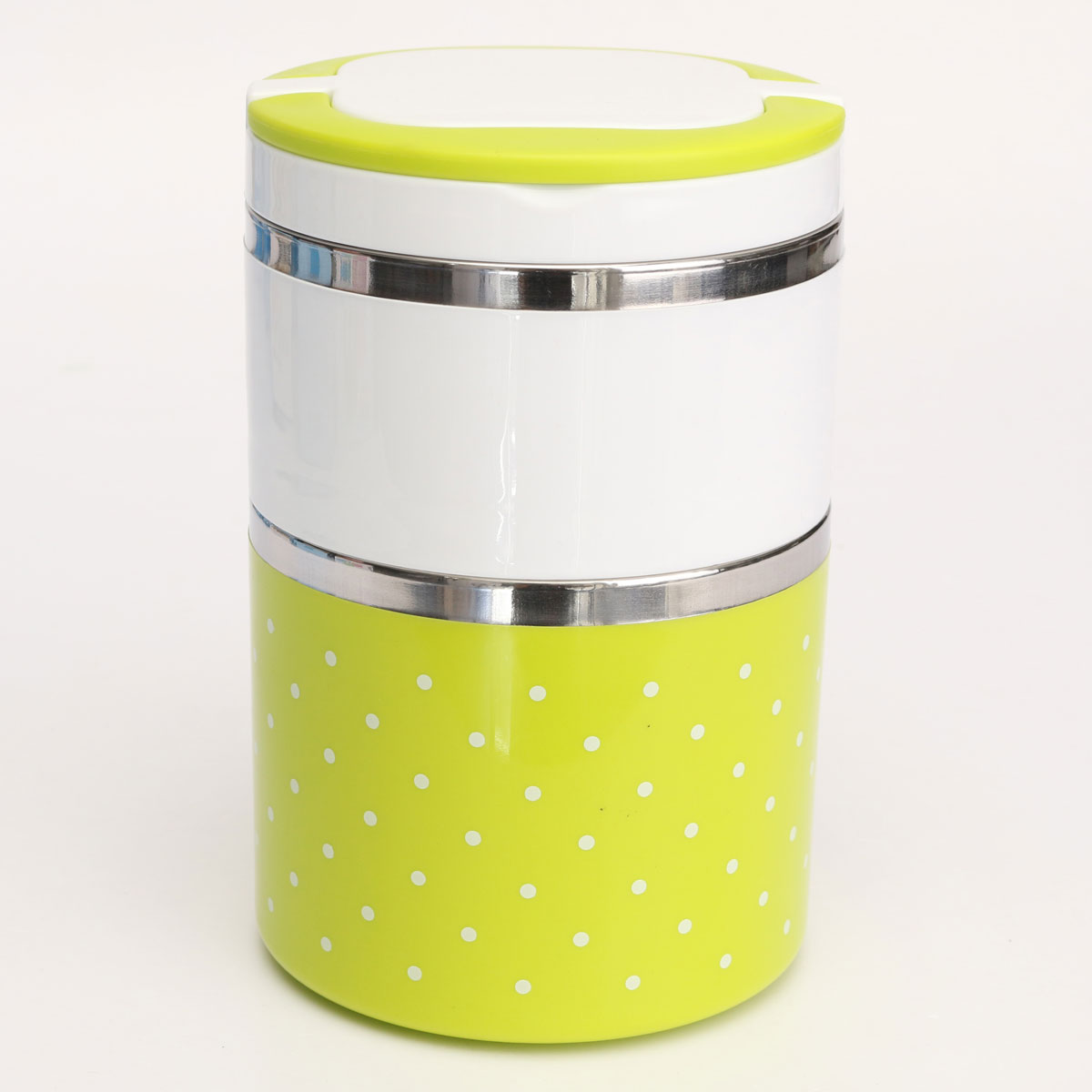 3-Layer Cute Stainless Steel Lunch Box Insulation Bento ...