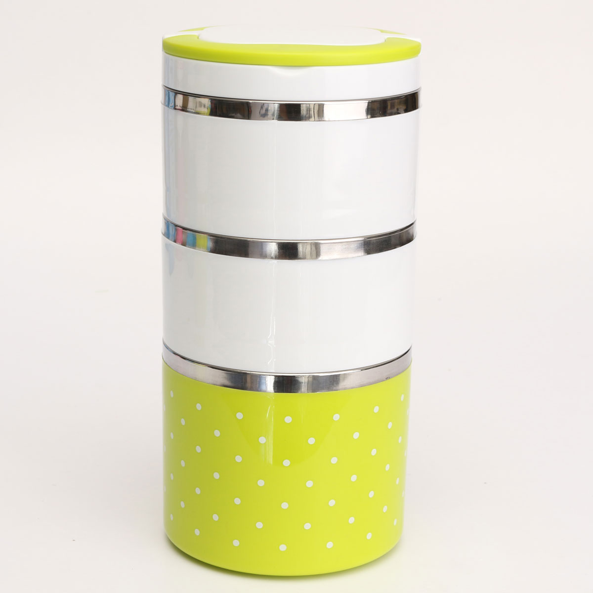 3-Layer Cute Stainless Steel Lunch Box Insulation Bento Food Picnic Container