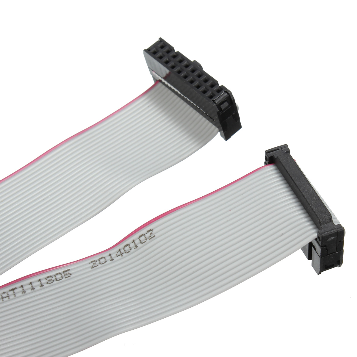 14 Pin Ribbon Cable : Pin flat ribbon cable wire idc pitch