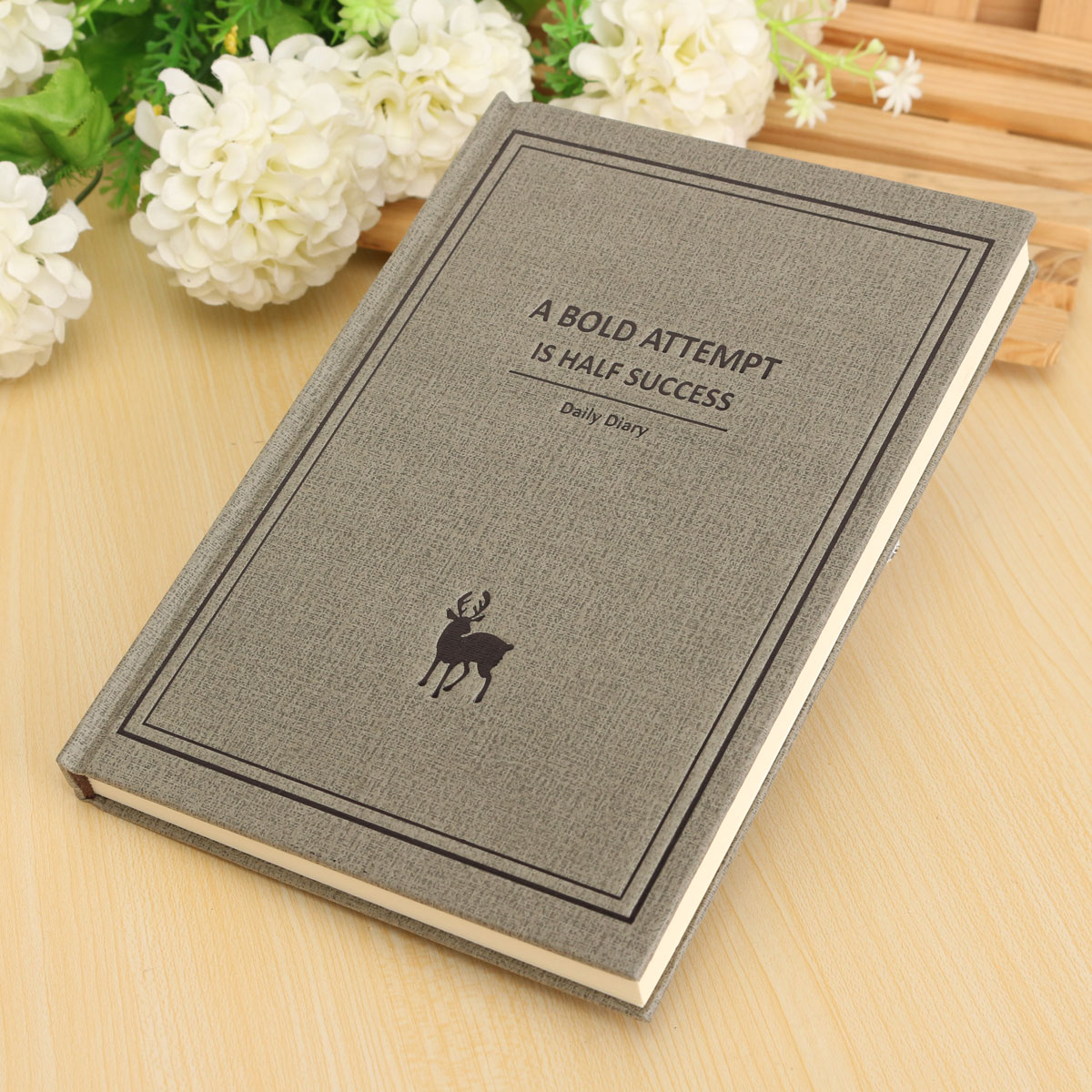 Creative Simple Retro Classic Vintage Blank Pages Journal Diary Notebook NEW A5