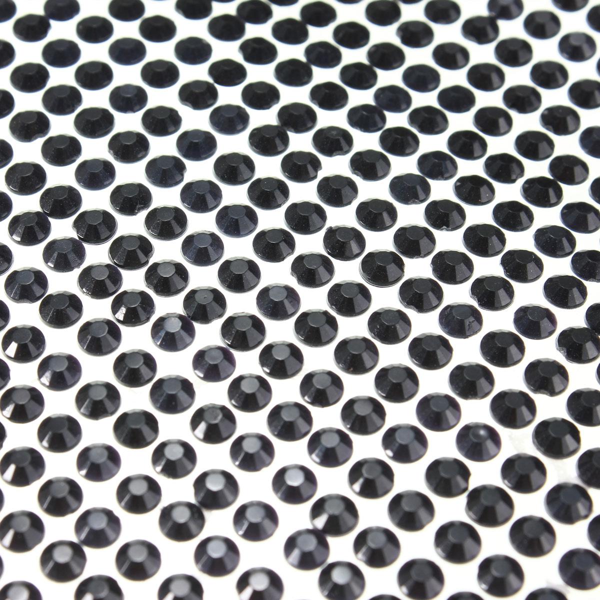 3034pcs 4mm Self Adhesive Stick On Rhinestones Sticker Crystals Diamante Gem Car