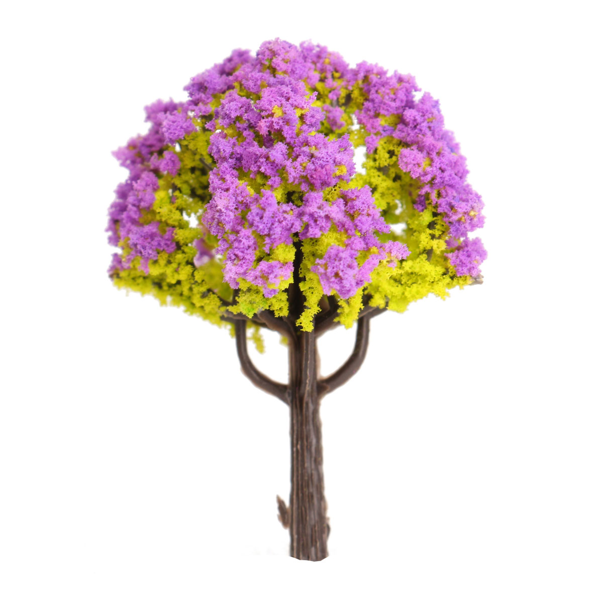 Two Become One Decorative Trees: 1~2X DIY Miniature Tree Plants Fairy Garden Accessories