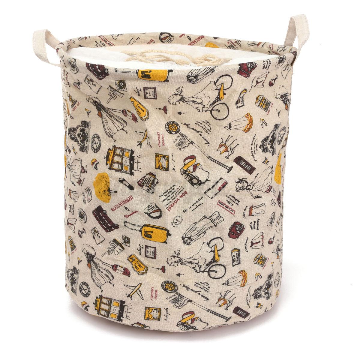 vari s panier linge laver pliable lavage sac rangement stockage v tement jouet ebay. Black Bedroom Furniture Sets. Home Design Ideas