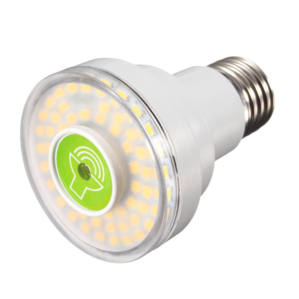 E27 LED Lampe Ampoule Spotlight Capteur Controle SON Lumière PR