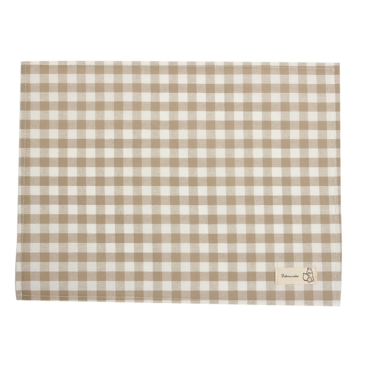 Cotton linen cloth table placemat heat insulation pad for Table placemats