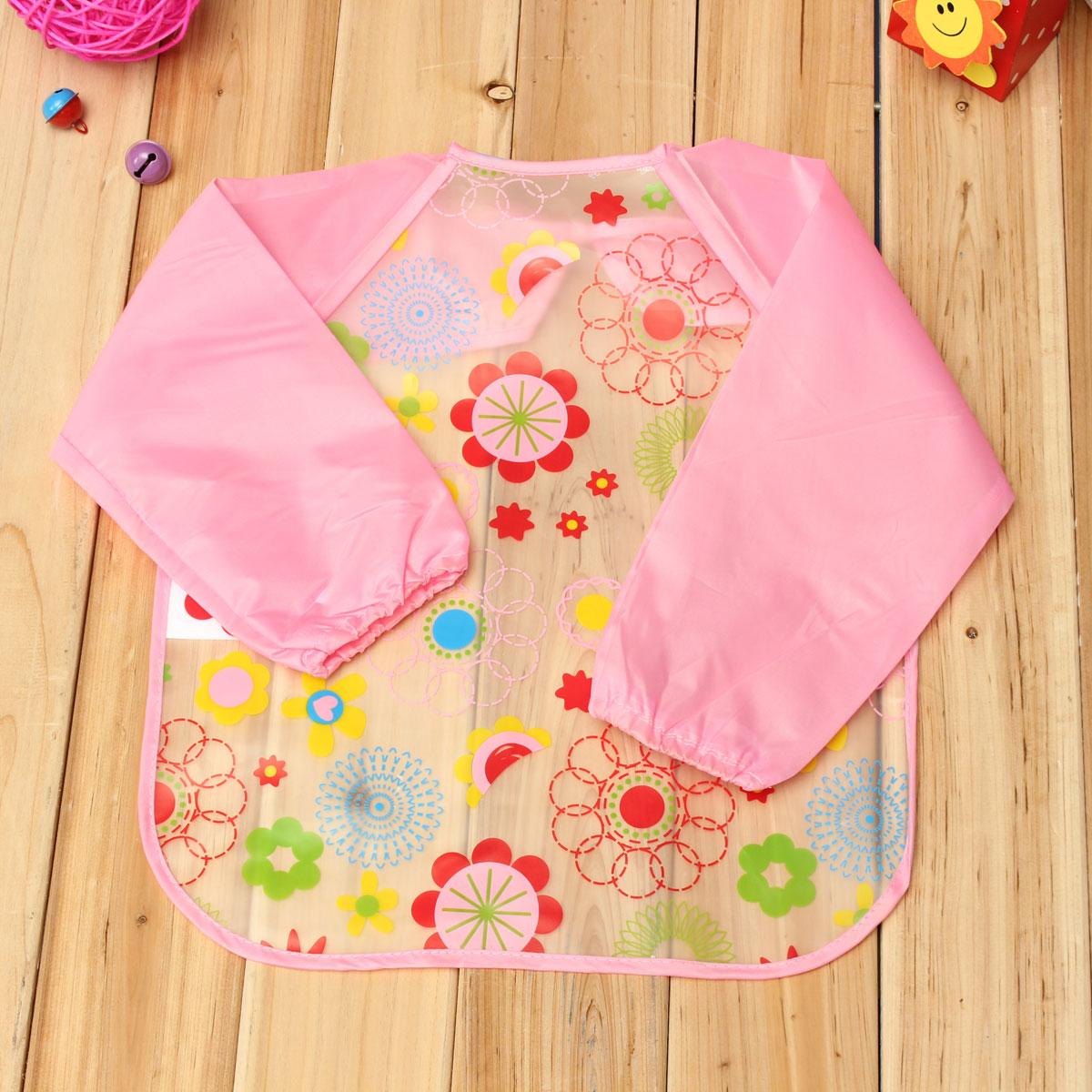 tablier bavette pour enfant baby b b blouse repas imperm able bandana bavoir ebay. Black Bedroom Furniture Sets. Home Design Ideas
