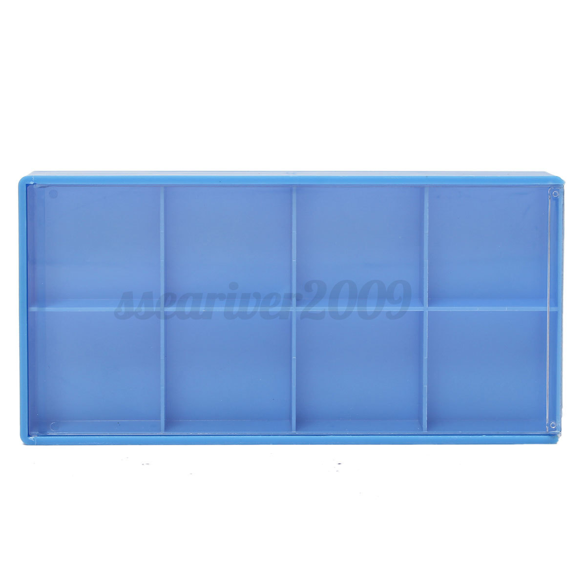 8/18/24 Grid Storage Box Case For Jewelry Watch Fitting Small Parts Container