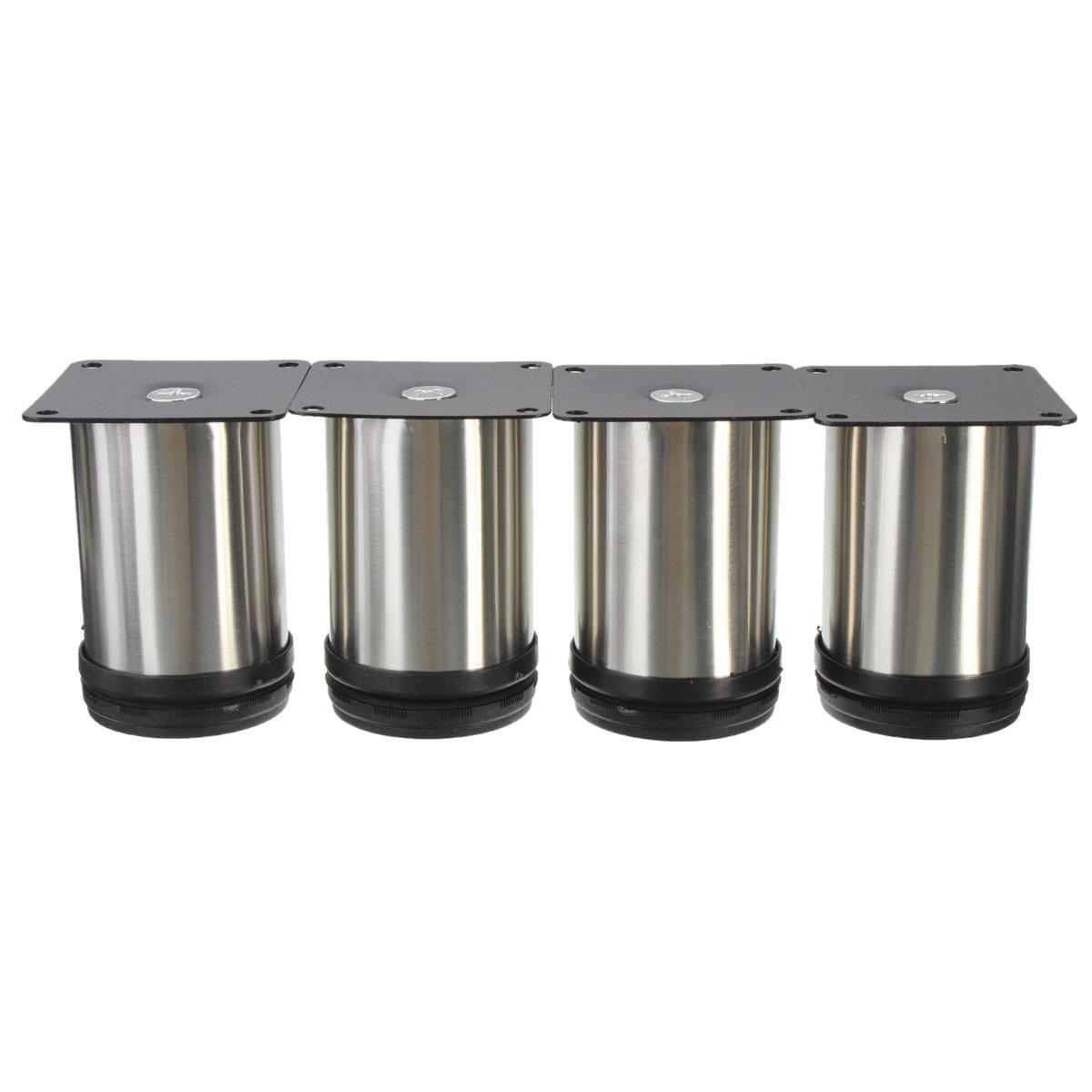 4pcs adjustable cabinet legs stainless steel kitchen feet