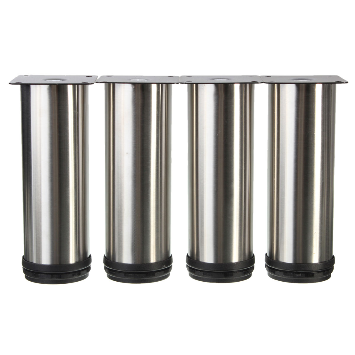 Adjustable Kitchen Cabinet Legs: 4Pcs Cabinet Legs Adjustable Stainless Steel Kitchen Feet