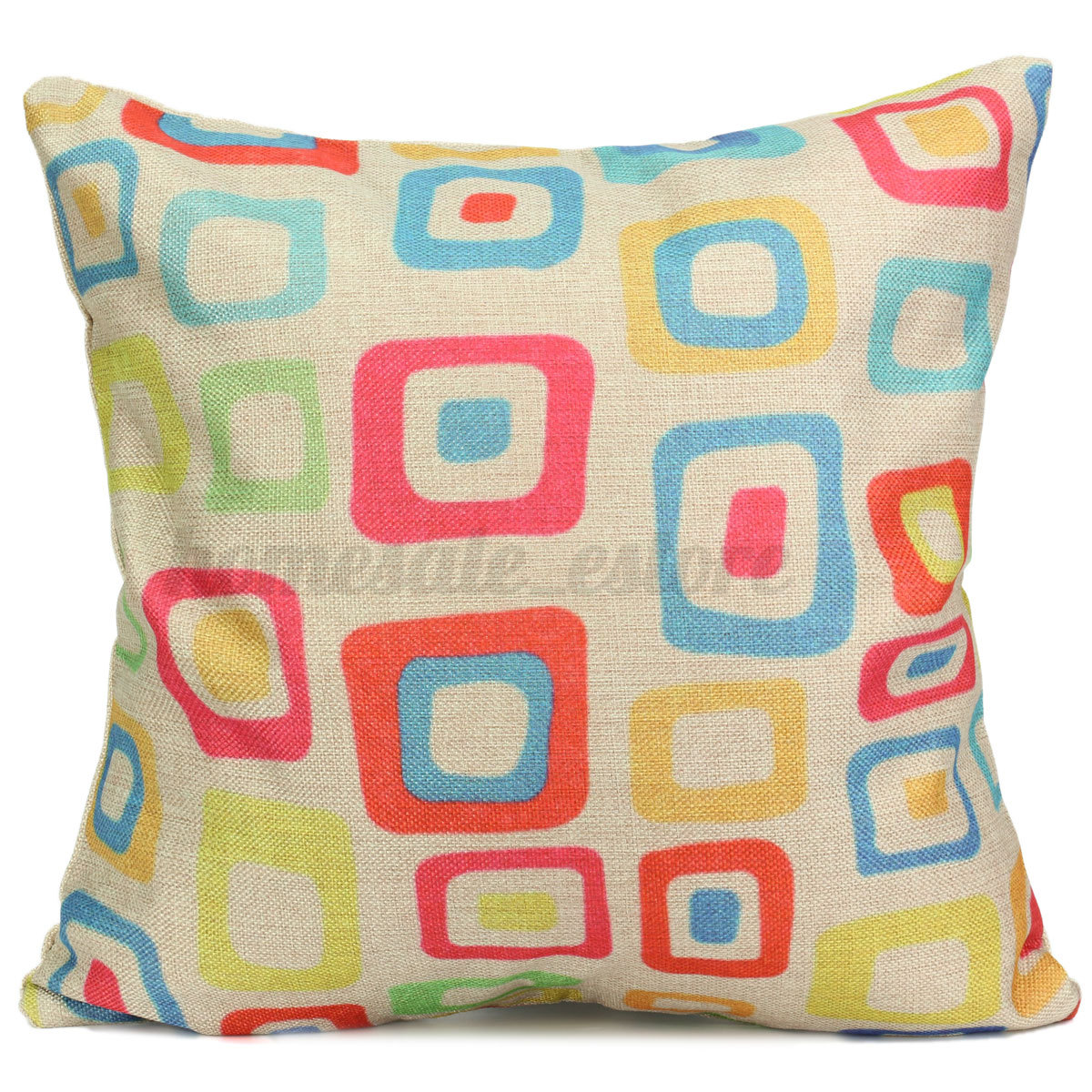 Decorative Cushions For Bedrooms : Vintage Simple Style Home Bedroom Decor Seat Back Pillow Case Cushion Cover