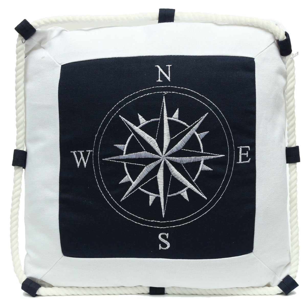 Nautical Throw Pillow Cases : Mediterranean Decorative Ocean Nautical Throw Pillow Case Cushion Cover + Inner eBay