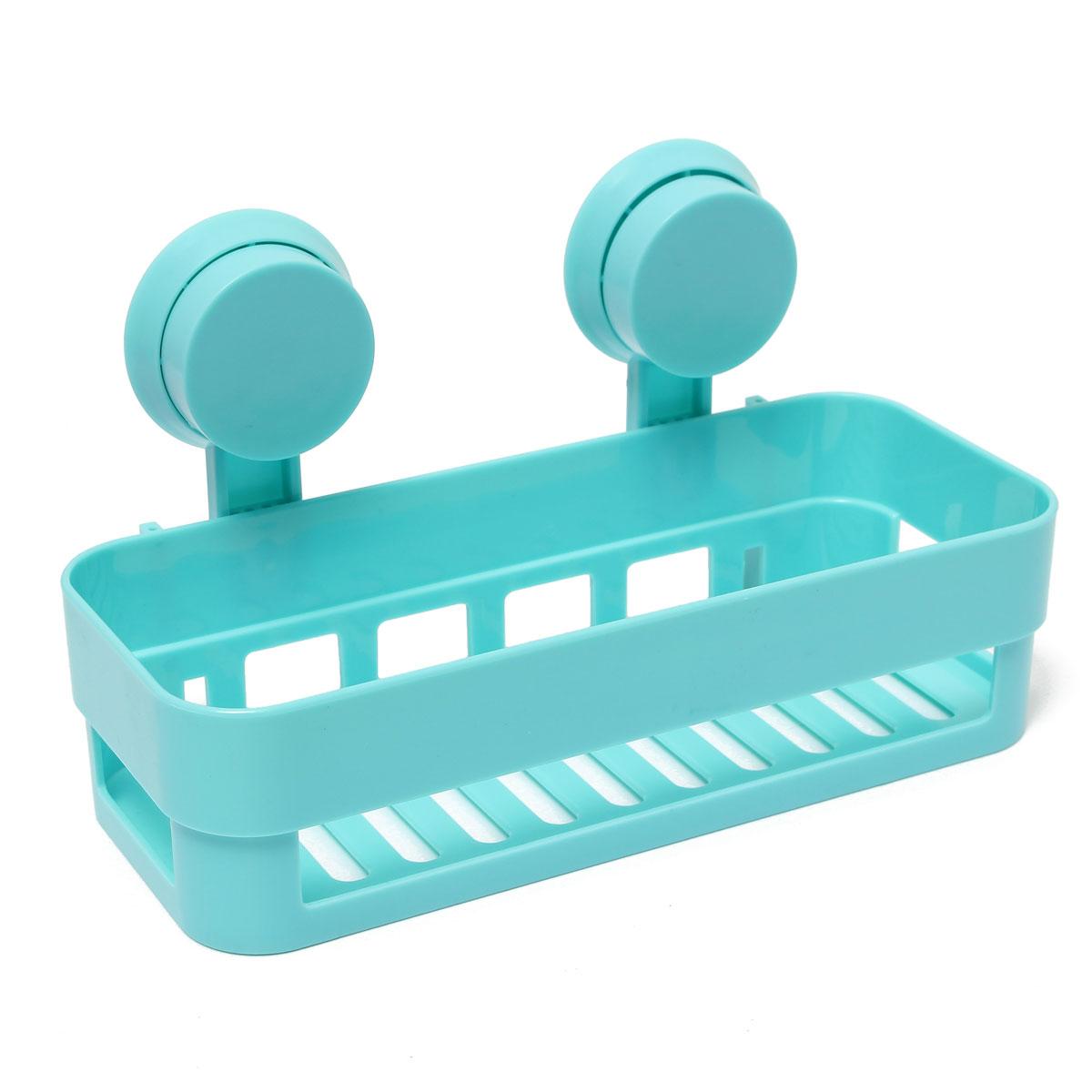 badezimmer bad k chen aufbewahrung organizer duschkorb badregal mit saugnapf neu ebay. Black Bedroom Furniture Sets. Home Design Ideas
