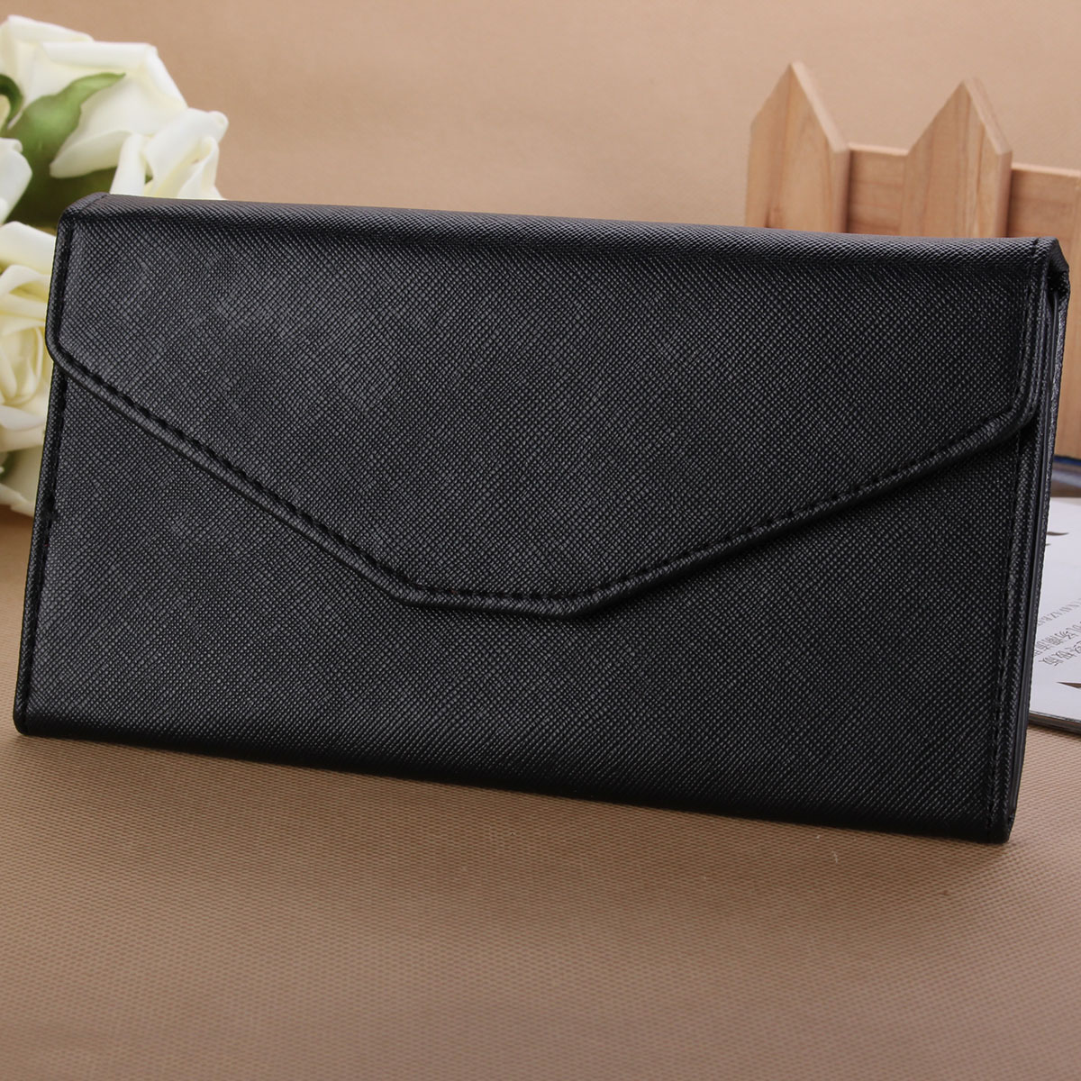 Women Clutch Long Purse Lady Leather Wallet Card Holder Handbag Phone Coin Bag