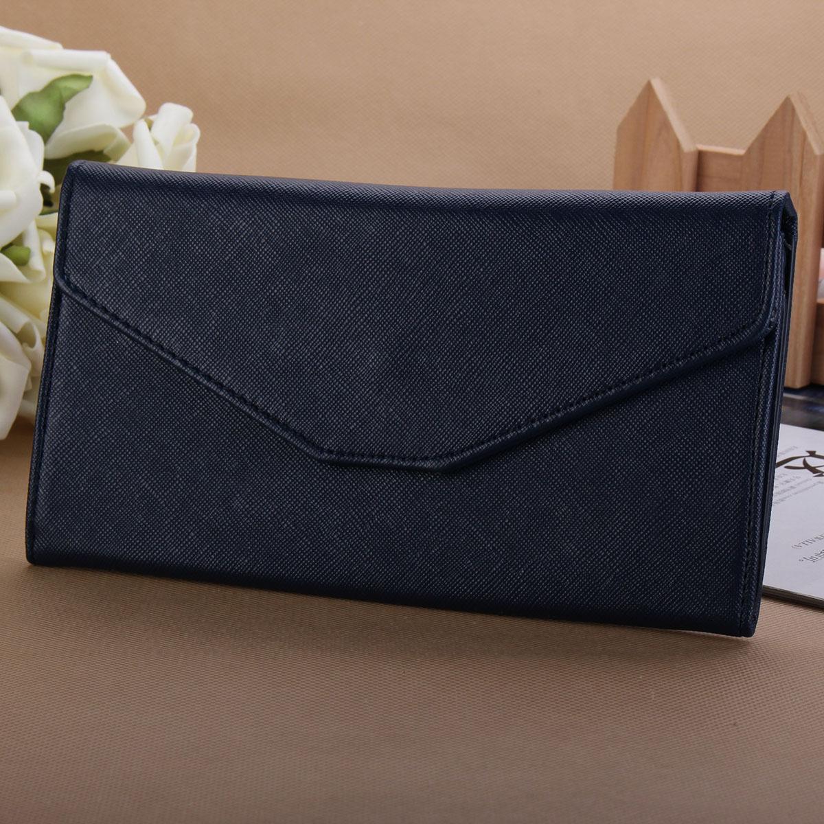 NEW Fashion Women Lady Long Wallet Card Holder Envelope Handbag Bag Clutch Purse
