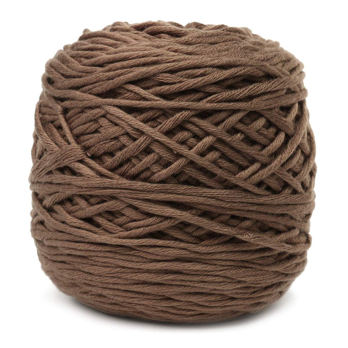 Soft skein cotton natural worsted wool yarn ball 200g for Craft with woolen thread