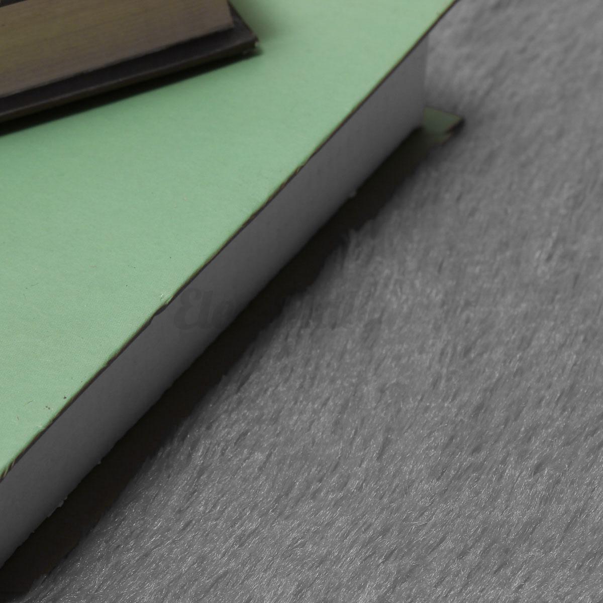 120cm round fluffy rug anti skid shaggy rug - Dining Room Floor Mat
