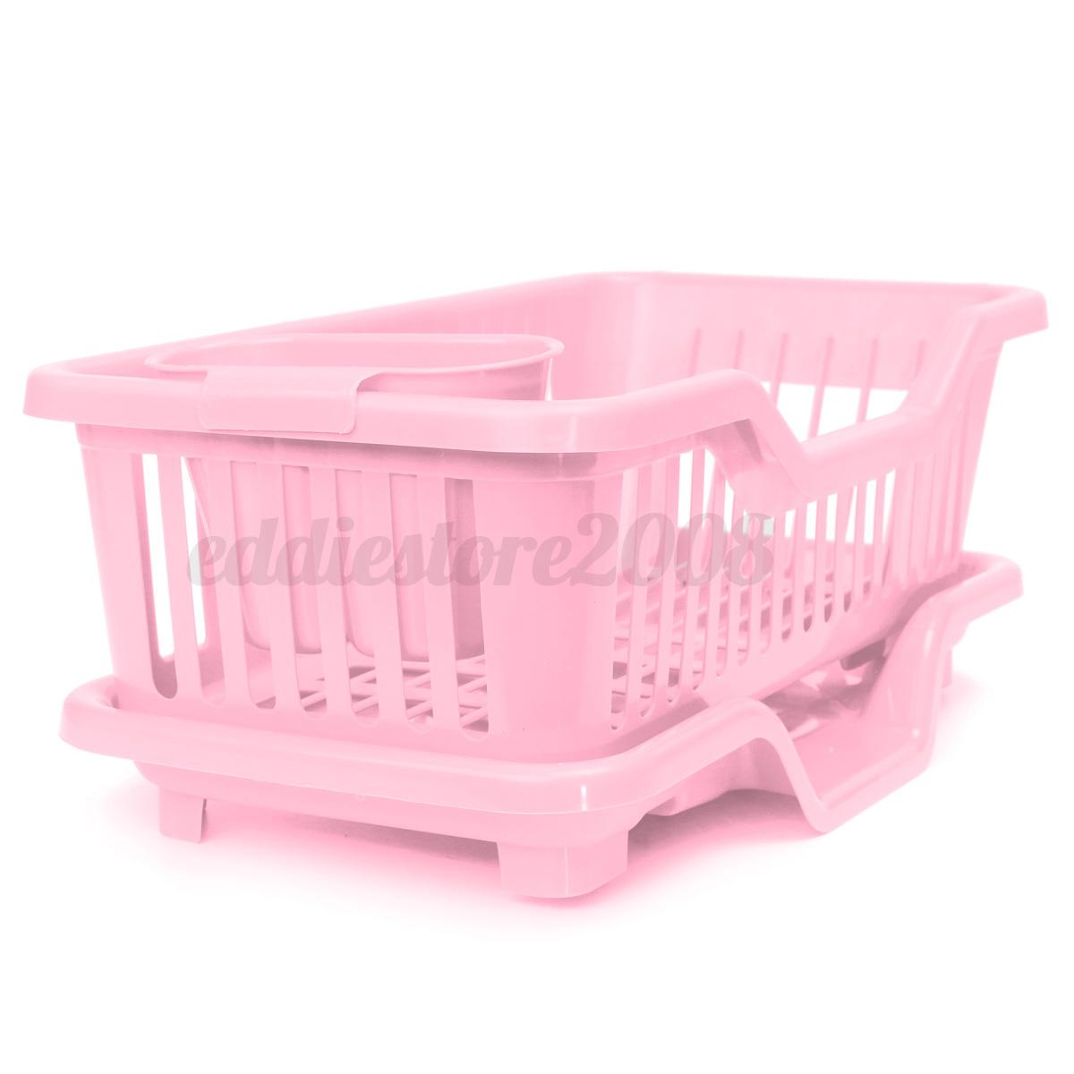 4 color kitchen sink dish drainer drying rack wash holder basket organizer tray ebay - Kitchen sink drying rack ...