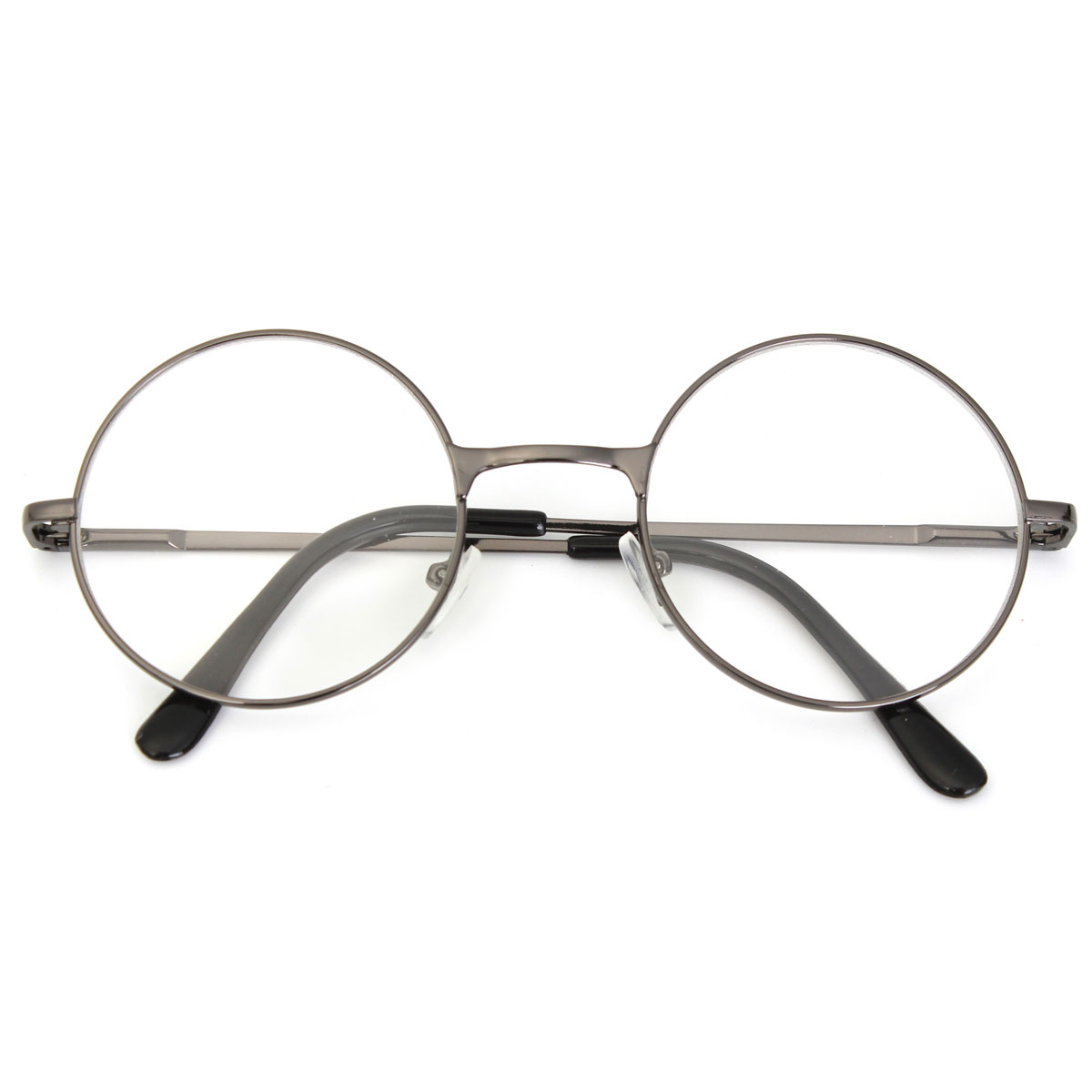vintage oval metal frame reading glasses reader