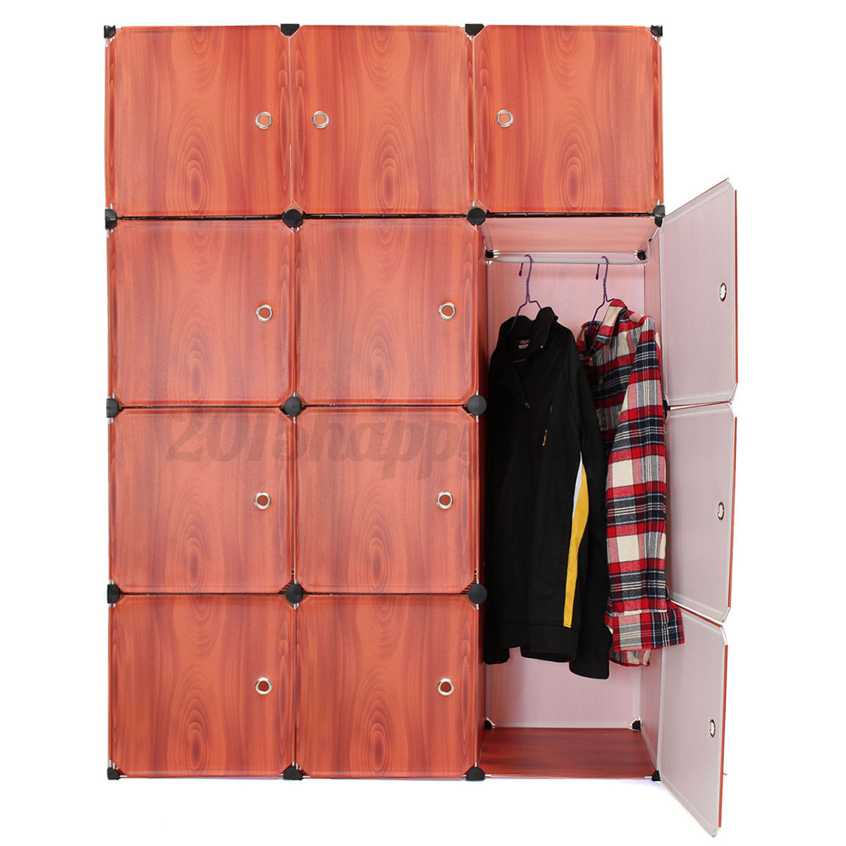 Zelt Cube Wardrobe : Cube portable clothes closet organizer wardrobe storage