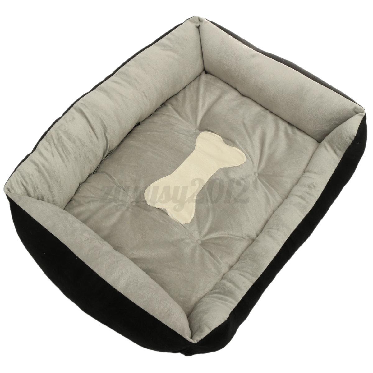 matelas pour chien coussin panier couchage niche tapis corbeille lit lavable ebay. Black Bedroom Furniture Sets. Home Design Ideas