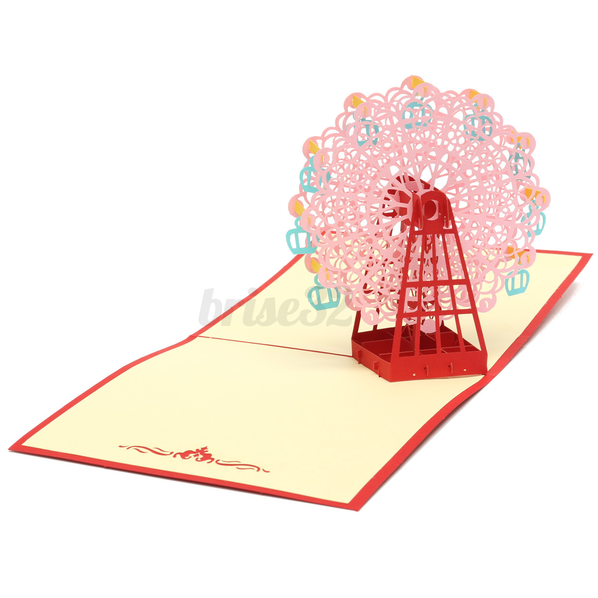 how to make a 3d thank you card