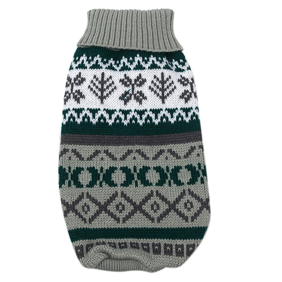 Pet Cat Dog Puppy Warm Knit Coat Clothes Sweater Vest ...