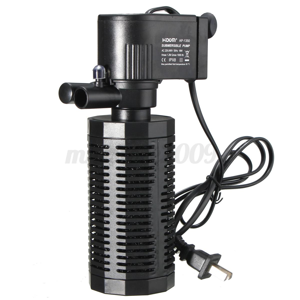 Internal filter aquarium water pump powerhead filtration for Internal fish tank filter