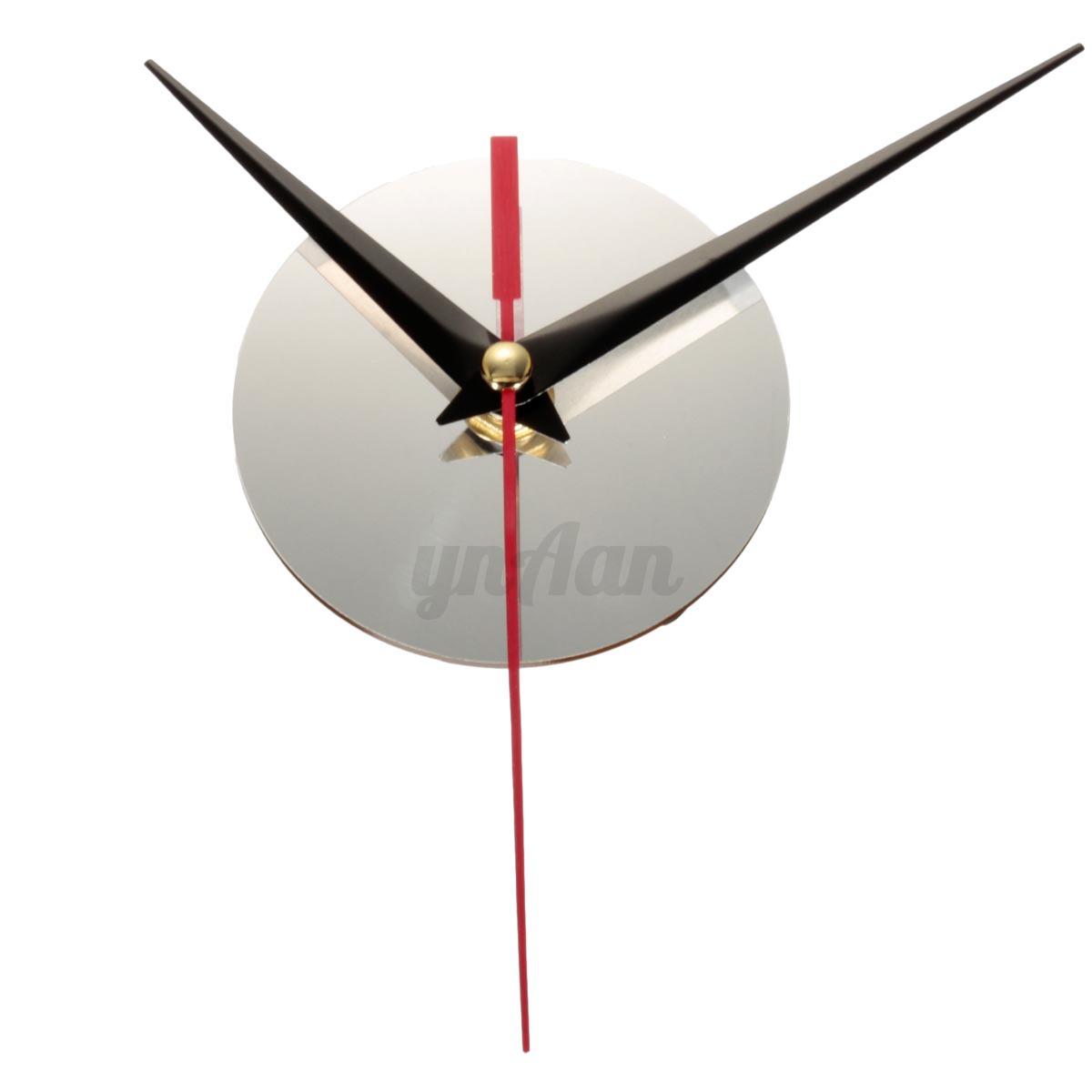 3D Wall Clock Modern Art DIY Watch Wall Creative Clock Home Office Room Decor