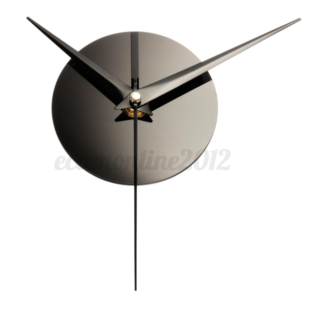 3d horloge murale diy art moderne bricolage pendule mur. Black Bedroom Furniture Sets. Home Design Ideas